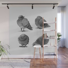 Pirate Pigeon & Crew Wall Mural