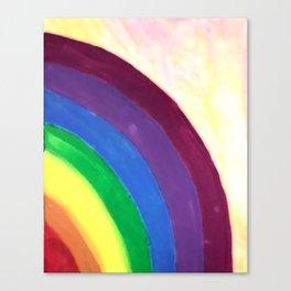 rainbow love (z) Canvas Print