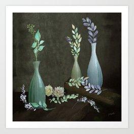 The Gracefulness of Leaves Art Print