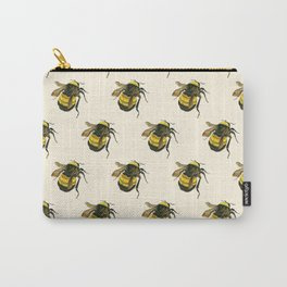 Vintage Scientific Bee Carry-All Pouch