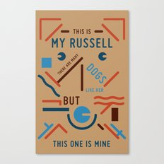 My Russell Canvas Print