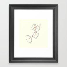 Prisms & Lenses - Reflex Framed Art Print