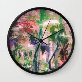 Jungle no. 3 Wall Clock