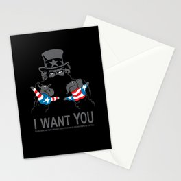 Uncle Scam Stationery Cards
