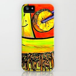 Banana Sushi iPhone Case