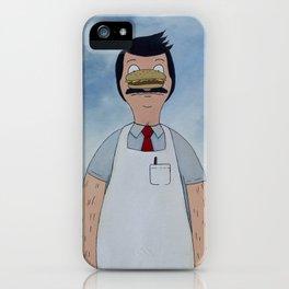 Bun of Man iPhone Case