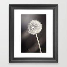 My Most Desired Wish Framed Art Print
