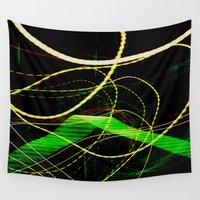 sonic Wall Tapestries featuring Sonic Waves by Jonathan Wright Productions
