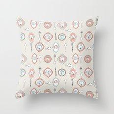 Spoon Koalas Throw Pillow