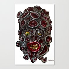 Heads of the Living Dead Zombies: Sucker Head Zombie Canvas Print