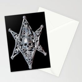 Skeleton Bone Thelema Stationery Cards