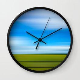Rape Seed Field Wall Clock