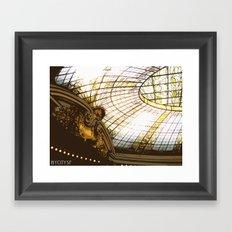 Beneath the rotunda Framed Art Print