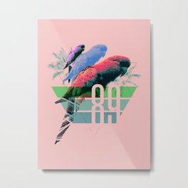 Birds of '89 Metal Print
