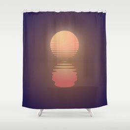 The Suns of Time Shower Curtain
