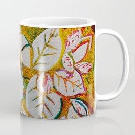 Leaves on the World Tree: Danish Beech and Oak Coffee Mug