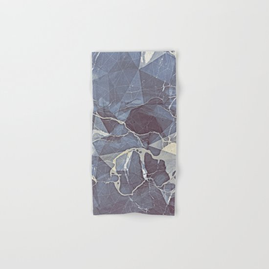 Geometric Marble Hand & Bath Towel