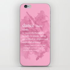 Dance iPhone Skin