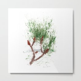 Botanical Impressions: LOBLOLLY PINE 2 Metal Print