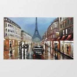 Rainy Paris Rug