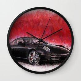 Porsche 911 Turbo Wall Clock