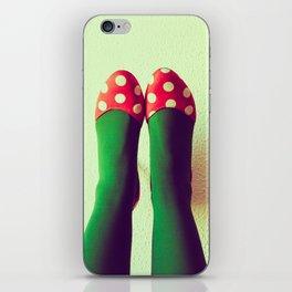 Zapatos de lunares 2 iPhone Skin