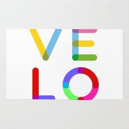 LOVE – Multicolor – Square Rug