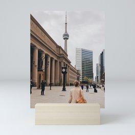 CN Tower Downtown Toronto Mini Art Print