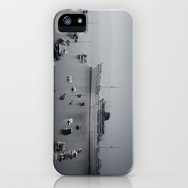 small and big boats iPhone Case