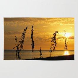 Golden Sea Oats Rug