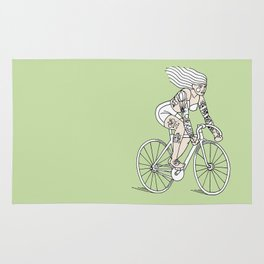 LET´S RIDE (bike) Rug