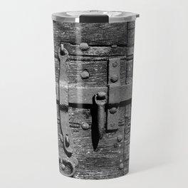 Ancient door latch Travel Mug