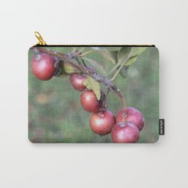 Crabapples into the wild Carry-All Pouch