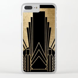 Art deco design Clear iPhone Case