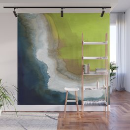 Surf Abstraction Wall Mural