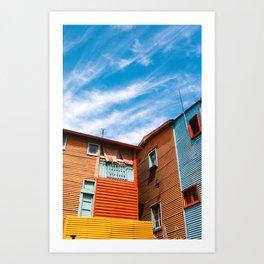 Colors at Caminito Art Print
