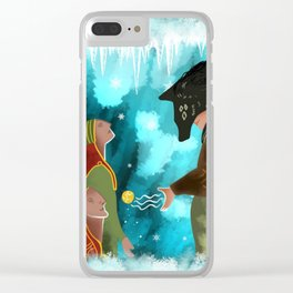 Solas Frees the Elves Clear iPhone Case