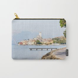 Lovely Malcesine town in Lake Garda, Italy Carry-All Pouch