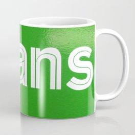 Triptych - Super Sans Ole - North Coffee Mug