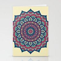 islam Stationery Cards featuring Mandala by Mantra Mandala
