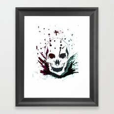 Visions of a Terrible Title Framed Art Print