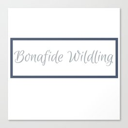 Bonafide Wildling | The Koze 2018 Spring Collection Canvas Print