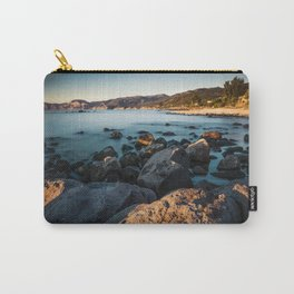 Photograph of a rocky coastline and beach Carry-All Pouch