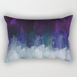 Abstract watercolor texture I Rectangular Pillow