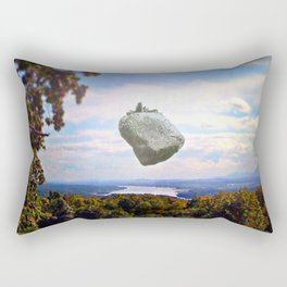 Mountain House Rectangular Pillow