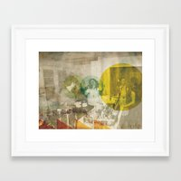 bread Framed Art Prints featuring Bread. by Sarah Duet