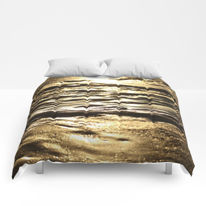 Nature In Abstract Mood #decor #society6 Comforters
