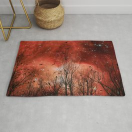 Red Night Rug