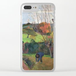 The willow tree  Paul Gauguin Clear iPhone Case