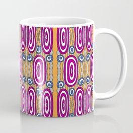 Dripping Weird Circles Pattern Coffee Mug